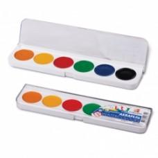 R14-034 Akvarelė, 6 spalvų, 19C1282-08, LUČ