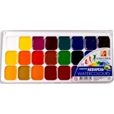 R14-103 Akvarelė, 24 spalvų, CLASSIC, 19C1294-08, LUČ/21