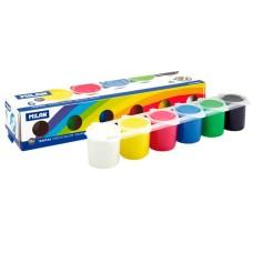 R15-017 Guašas, 6 spalvų, 25ml, 0329906, MILAN