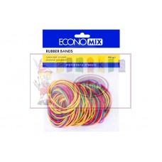S03-915 Gumytės 100g 48mm įvairių spalvų 41506 PAPIRUS