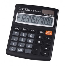 T01-124 Skaičiavimo mašinėlė SDC-810BN CITIZEN