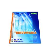 T05-309 Skaidrūs viršeliai, PVC, A4, 150mic, D.RECT, 100vnt., LEVIATAN