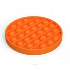 Antistresinis žaislas POP IT 13cm apv oranžinis 481183 STARPAK, Z03-108