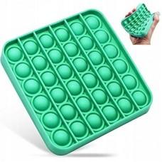 Antistresinis žaislas POP IT 13x13cm kvadrat. žalias 481186 STARPAK, Z03-109